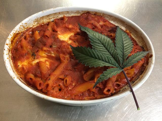 Marihuana kann man auch essen